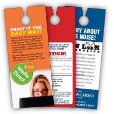 Advertise Locally With Flyers on Their Doors | Door Hangers Delivery
