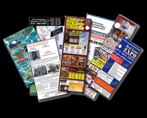 Door hangers delivery flyers door hangers distribution for Door 2 door leaflets